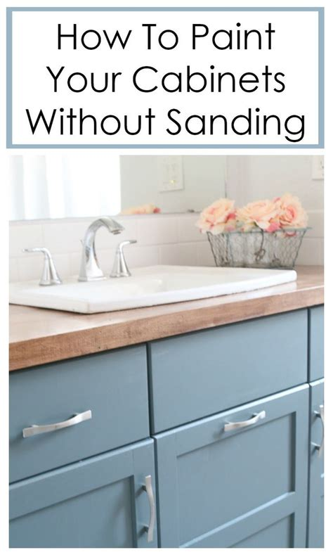 How To Paint Furniture Without Sanding Pinterest App