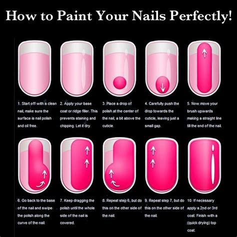 How To Paint Nails Like A Professional