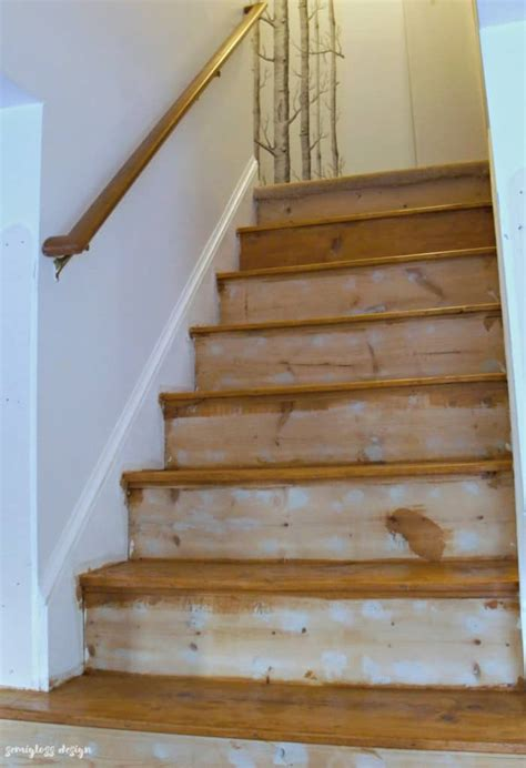 How To Paint Or Stain Steps