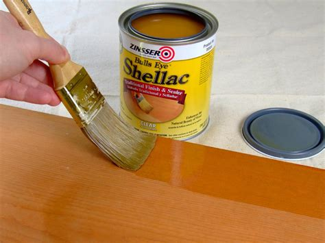 How To Paint Over Shellac Finish