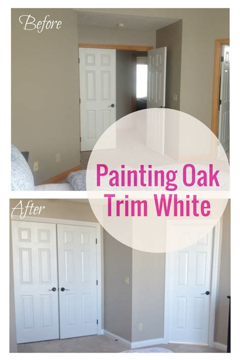 How To Paint Over Stained Oak Trim
