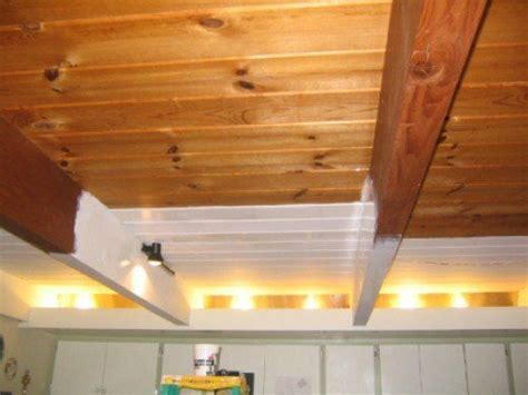 How To Paint Wood Ceiling