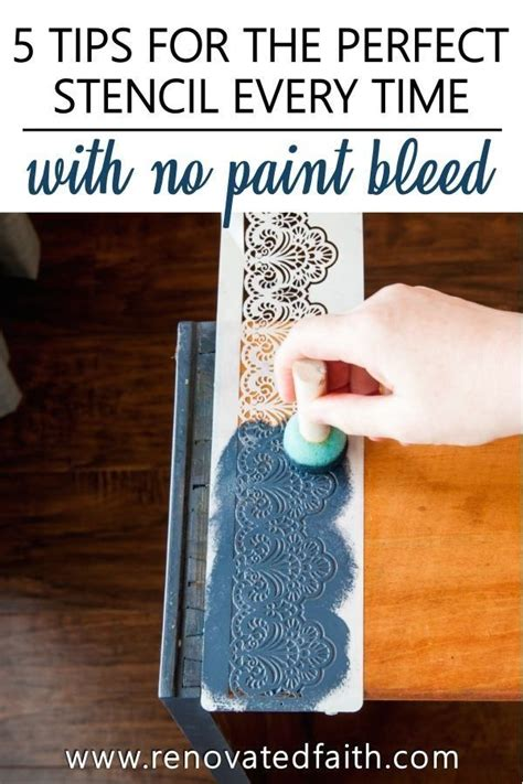 How To Paint Words On Wood Without Bleeding