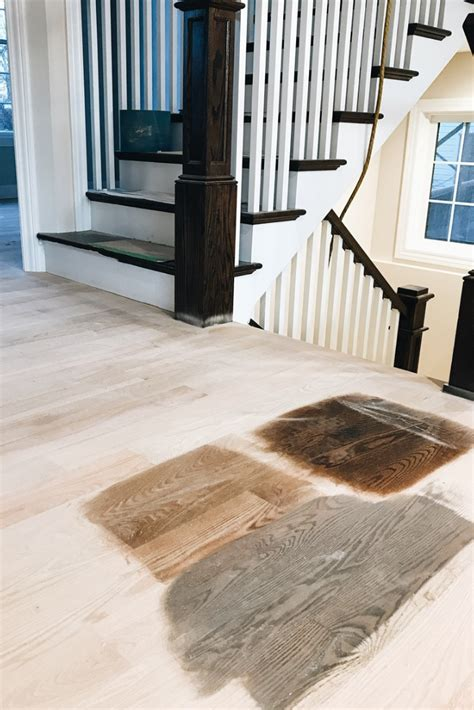 How To Pick Stain Color For Hardwood Floors