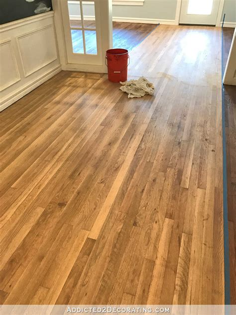 How To Pick Stain Color For Oak Floor