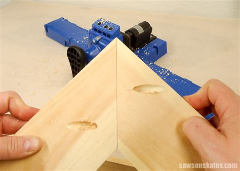 How To Pocket Hole A Miter Joint