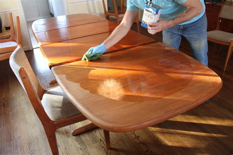 How To Polish Teak Dining Table