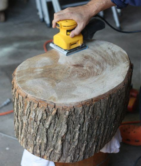 How To Preserve Tree Trunk Slices Coffee