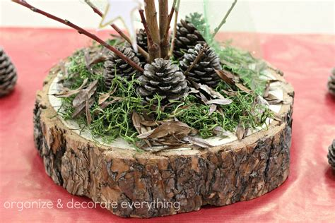How To Preserve Tree Trunk Slices For Centerpieces