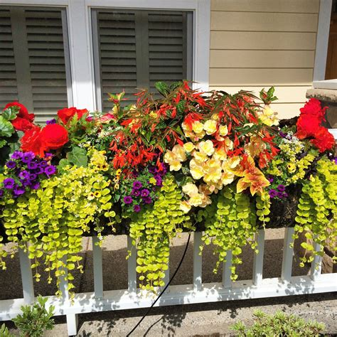 How To Prop Up Flower Box Under Window With Flowers
