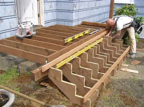 How To Properly Build Deck Steps