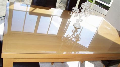 How To Protect Wood Table Glass