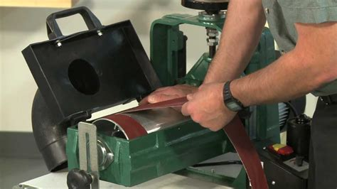 How To Put A Belt On A Drum Sander