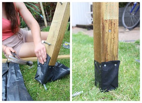 How To Put A Post On Concrete