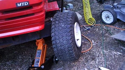 How To Put A Tire Back On The Rim