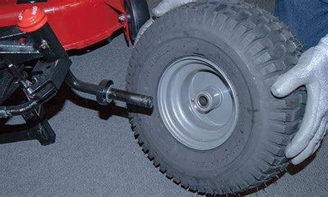 How To Put A Tire On A Rim On A Riding Mower
