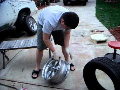 How To Put A Tire On A Rim With Machine