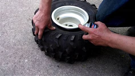 How To Put A Tire On A Rim With Starting Fluid