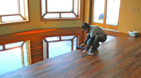 How To Put Polyurethane On A Hardwood Floor