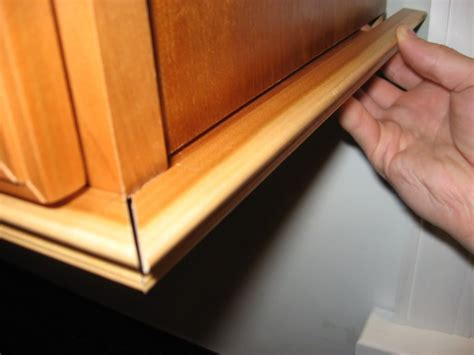 How To Put Trim On Cabinet Doors