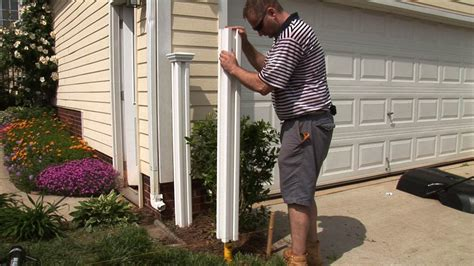 How To Put Up A Vinyl Fence Post
