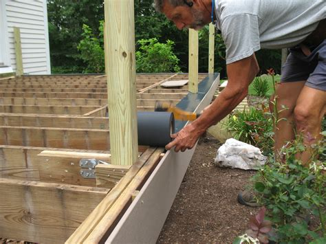 How To Put Up Raised Decking