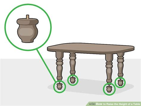 How To Raise A Table 2 Inches