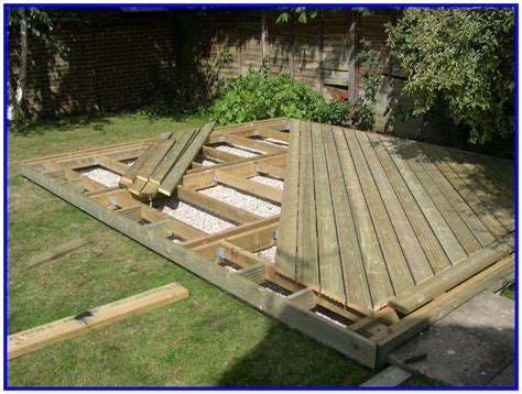 How To Raise Deck Over A Concrete Patio
