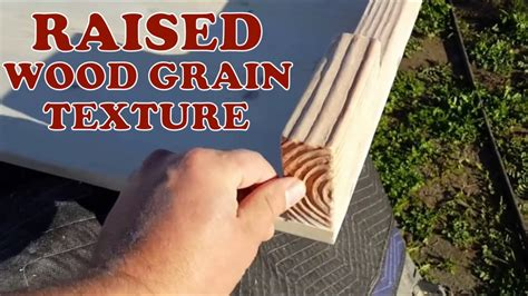 How To Raise The Grain In Wood Stain For An Old Look