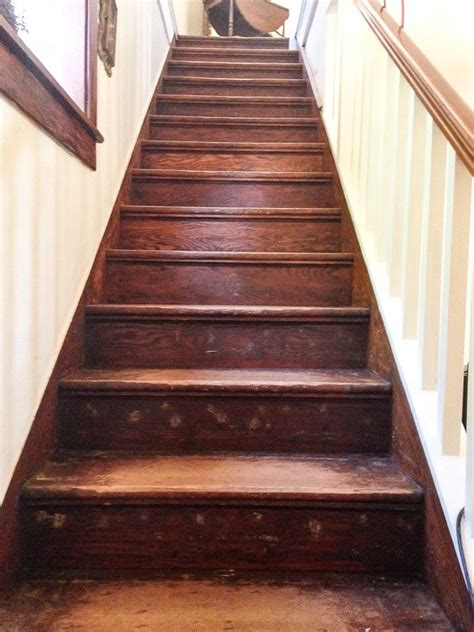 How To Re Stain Wood Stairs