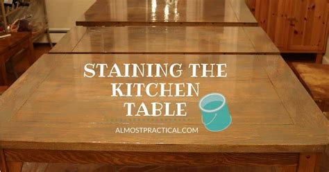 How To Refinish A Table Top That Is Stained