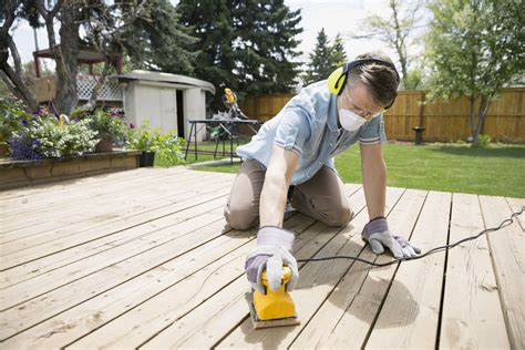 How To Refinish A Wood Deck Like A Pro