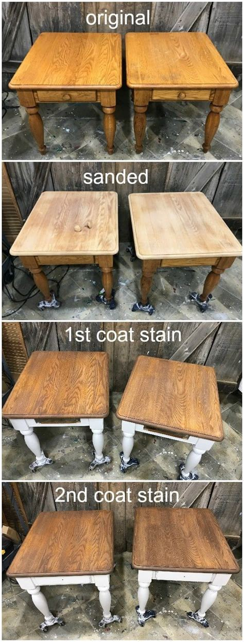How To Refinish Old Wood Stained Furniture