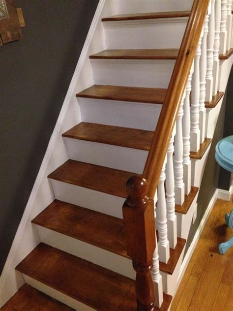 How To Refinish Stained Wood Stairs