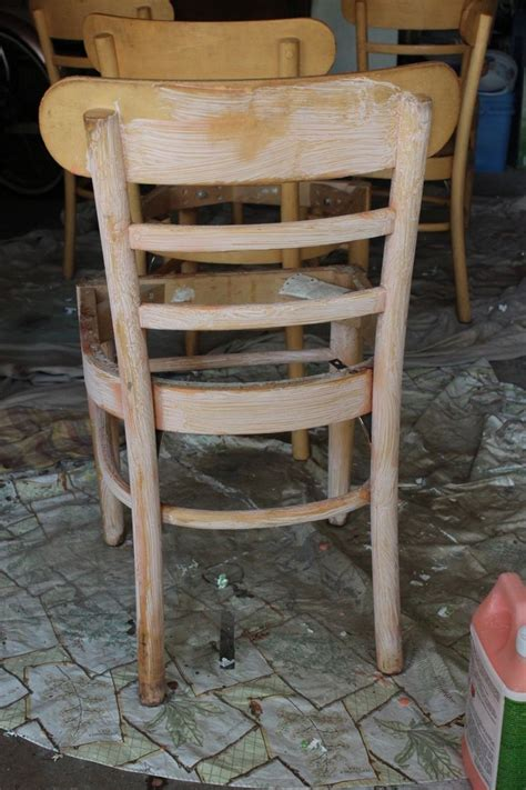 How To Refinish Wood Dining Chairs