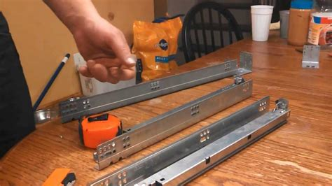 How To Release Cabinet Drawer Slides