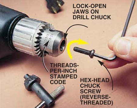 How To Remove A Keyless Chuck From A Drill