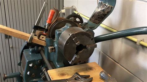 How To Remove A South Bend Lathe Chuck