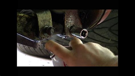 How To Remove A Stuck Nut And Bolt In A Control Arm
