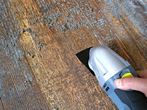 How To Remove Adhesive From Wood Floor
