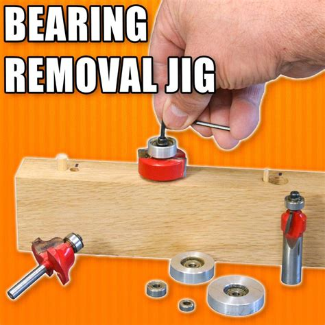 How To Remove Bearing From Router Bit
