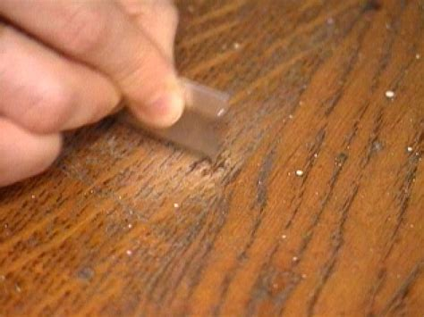 How To Remove Black Burn Marks From Wood Veneer