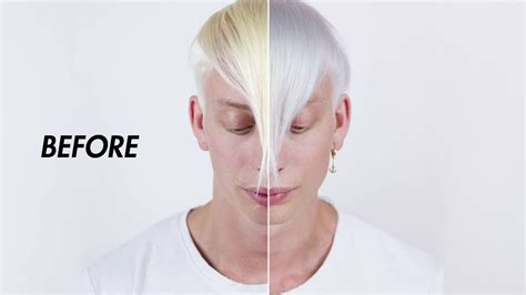 How To Remove Bleached Hair