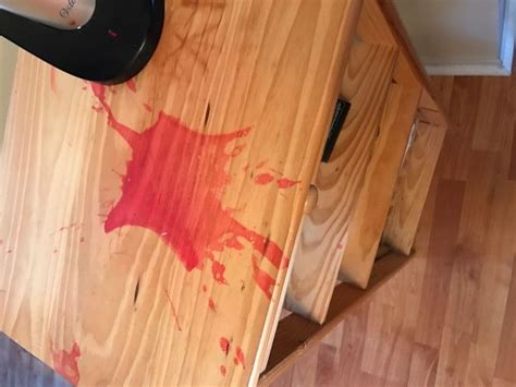 How To Remove Candle Dye From Wood