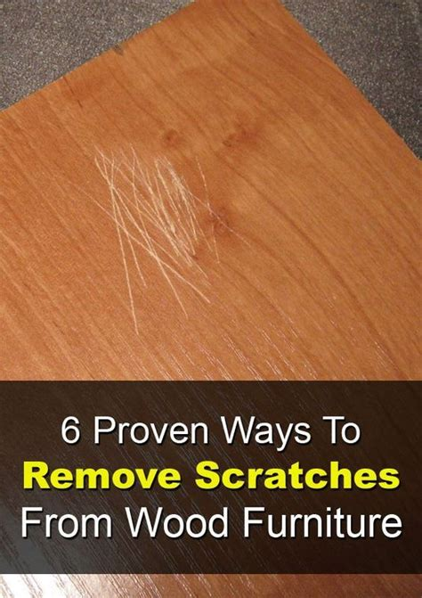 How To Remove Deep Scratches From Wood Furniture