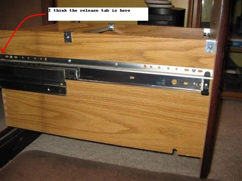 How To Remove Desk Drawers From Hon