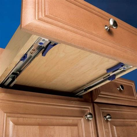 How To Remove Drawer With Undermount Slides For Shelves