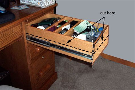 How To Remove Drawers With Stop Mechanisms