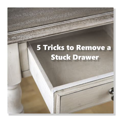How To Remove Dresser Drawer With Bottom Center Metal Slide