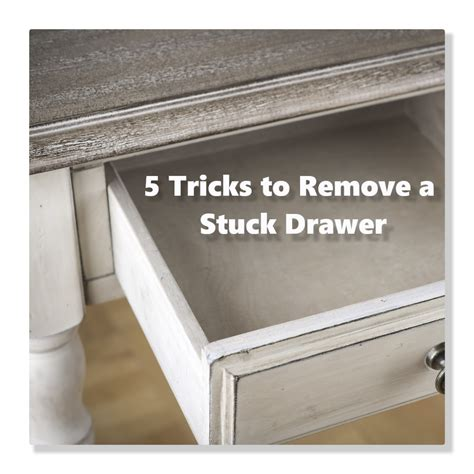 How To Remove Dresser Drawers With Center Track